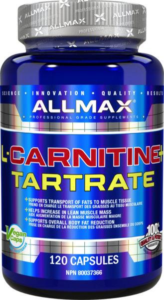AllMax L-Carnitine - 120 капсули